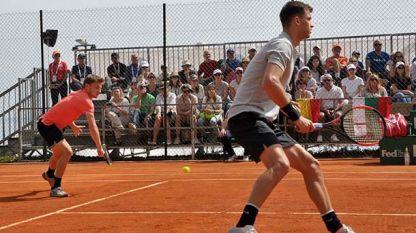 Димитров и Гофен ще играят днес на двойки