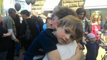 Parents of children with disabilities protesting once again in Sofia