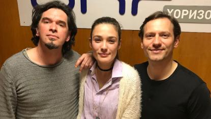 Росен Пенчев, Лорина Камбурова и Орлин Павлов в БНР