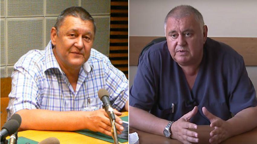 Доц. Росен Коларов и проф. Златимир Коларов