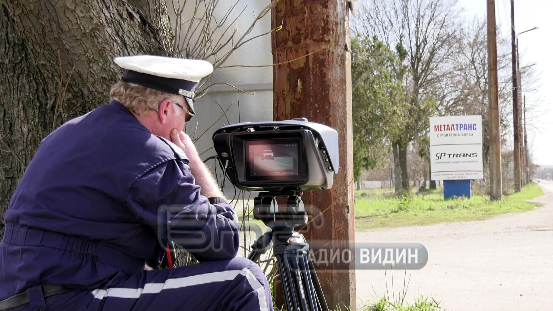 Новата лазерна камера на КАТ