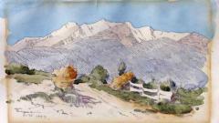 Пейзаж от Пирин, Константин Щъркелов