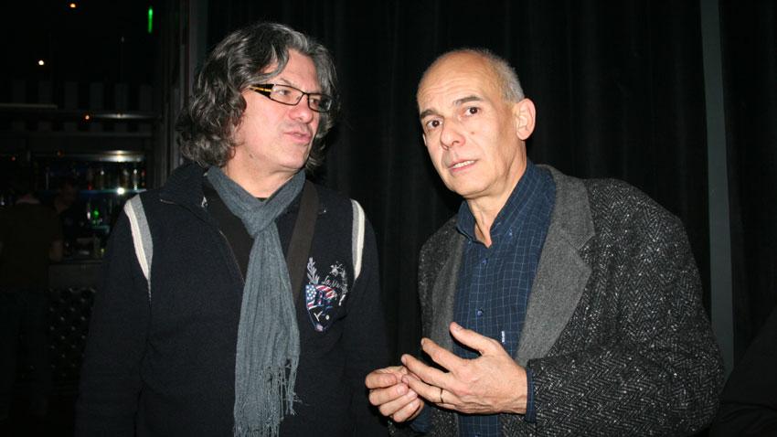 Иван Лечев (вляво) и Кристиян Бояджиев