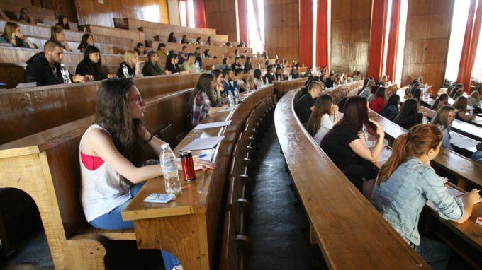 Карта на висшето образование в България показва дисбаланси по региони