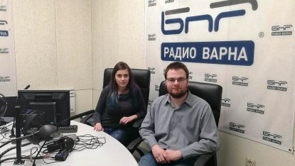 Мария Германова и Антонио Хаджиколев от ИУ Варна
