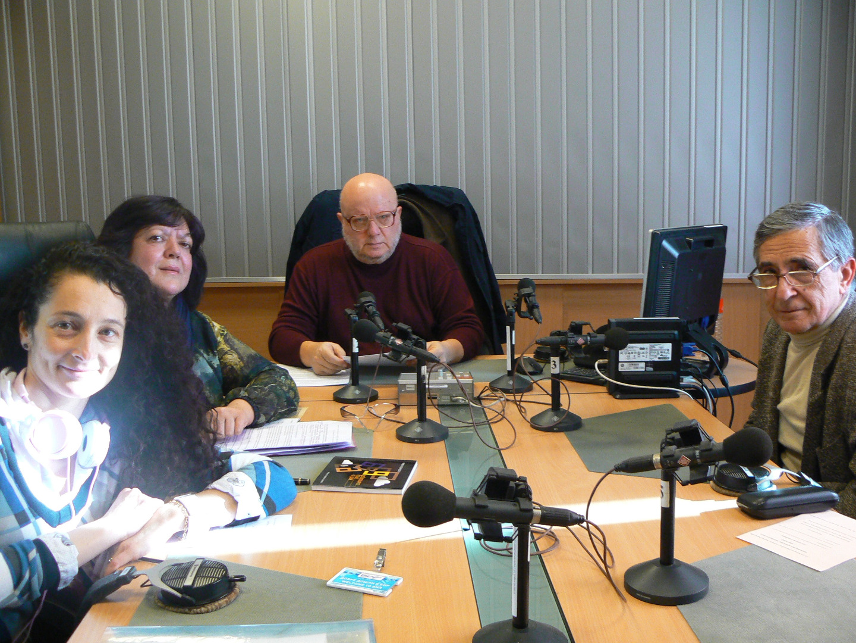 Нели Трошева, Диана Хаджиангелова, водещият Румен Леонидов и проф. Иван Желев