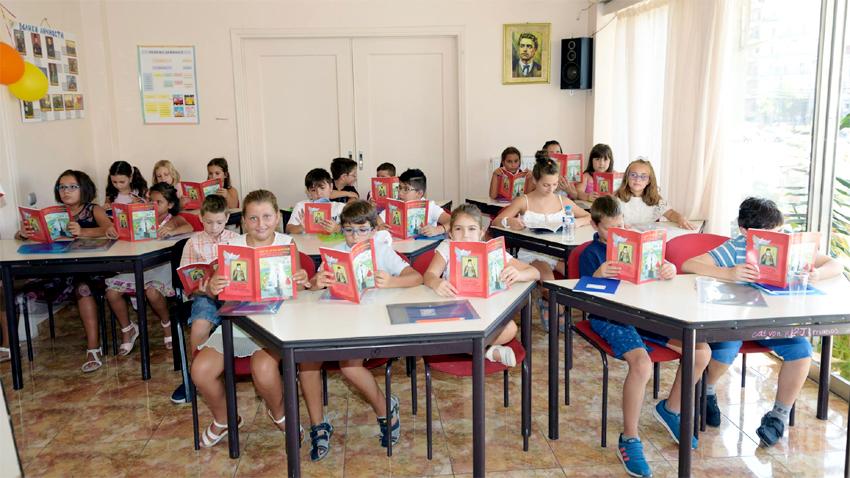 Деца от българското училище в Атина, Гърция