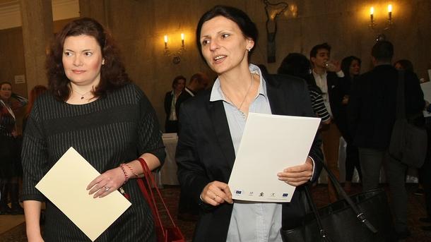 Йоана Христова и Малина Крумова