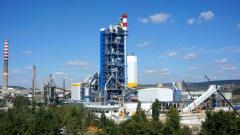"""Заводът за цимент в Девня, който e част от консорциума """"Италчименти"""""""