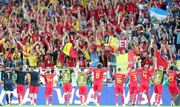 Белгия победи Англия с 1:0, изпревари Англия в Седма