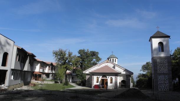 Руенският манастир над село Скрино