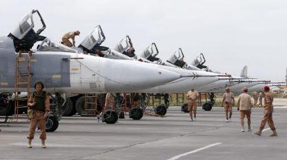 Руската авиобаза
