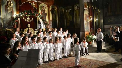 Този миг е запечатан от миналогодишния Рождественски концерт, днес началото е от 17 часа
