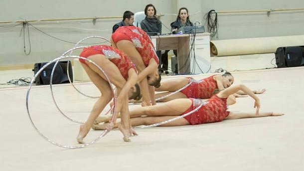 Ансамбъл - жени спечели златен медал във финала с пет