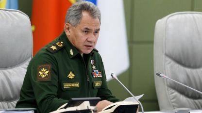 Руският министър на отбраната Сергей Шойгу