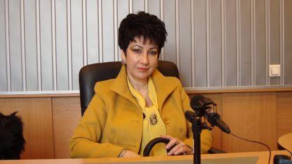 Мариана Кукушева в студиото на програма