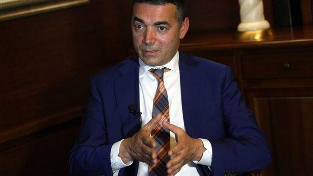 Никола Димитров - външен министър на Македония