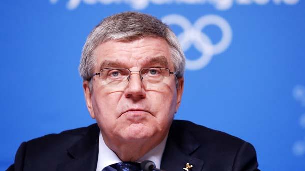 Президентът на МОК Томас Бах