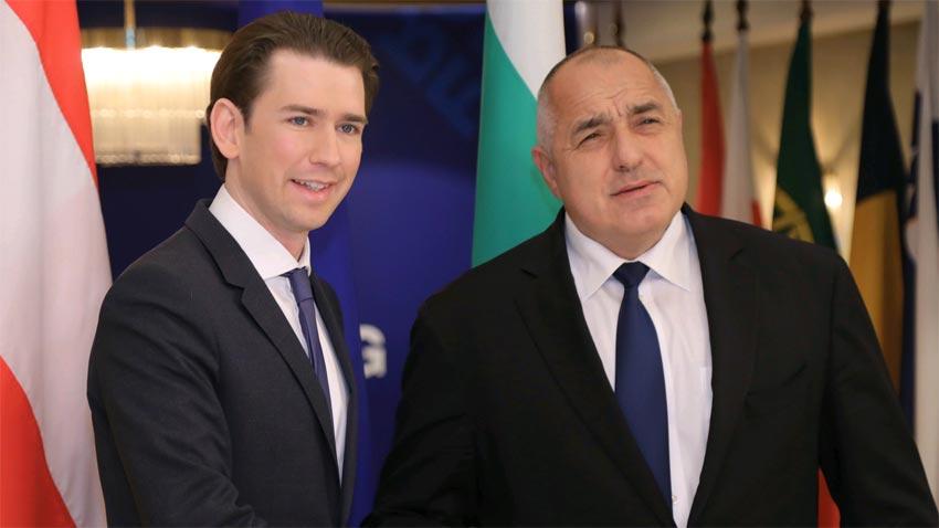 Себастьян Курц и Бойко Борисов