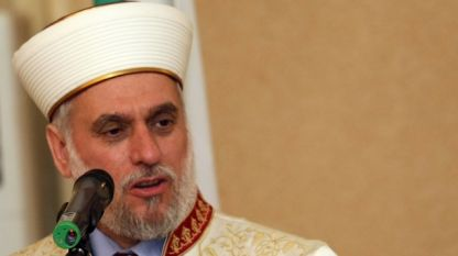 Großmufti Bulgariens Mustafa Hadschi