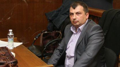 Кметът на Септември Марин Рачев, чийто мандат се очаква да бъде прекратен.