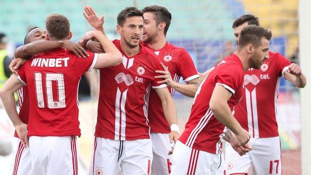 Футболистите на ЦСКА-София не можаха да победят