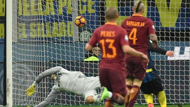 """""""Рома"""" победи с 3:1 като гост """"Интер"""""""