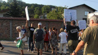 Протестът на перничани се увенча с успех
