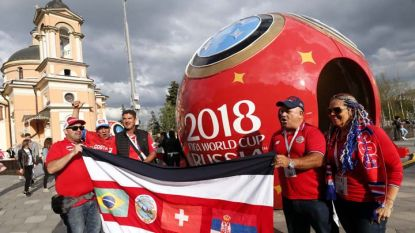 Стотици хиляди фенове са в Русия за Световното