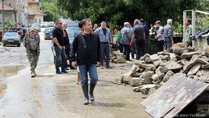 Даниел Панов; Наводнения във Великотърновско