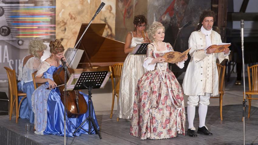 """Ансамбъл """"Маркиз"""" представя """"Нюанси на любовта в музиката от епохата на Шекспир""""."""