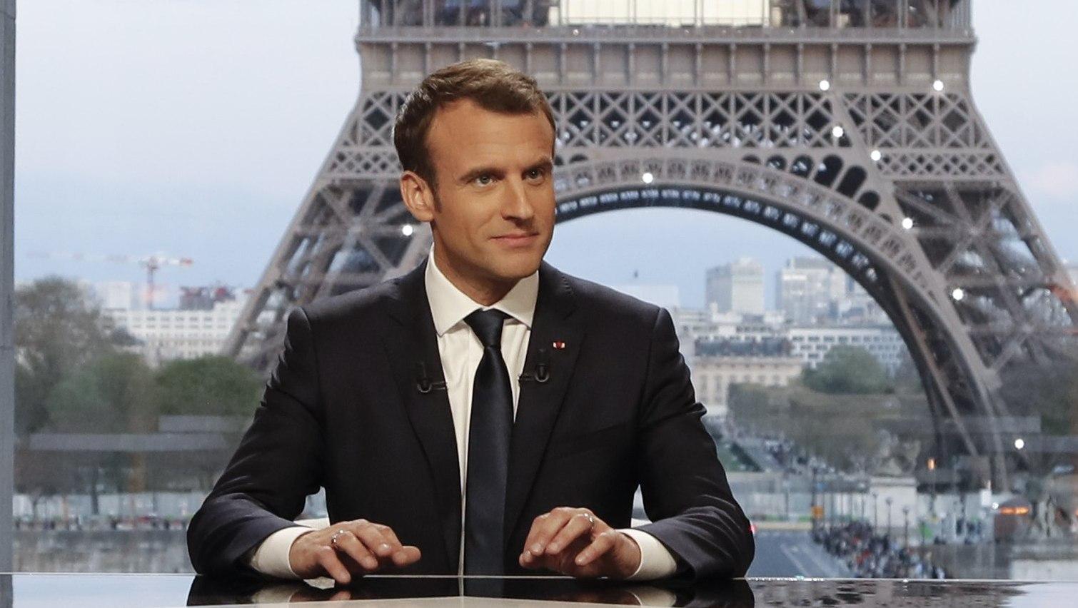 Френският президент Еманюел Макрон.
