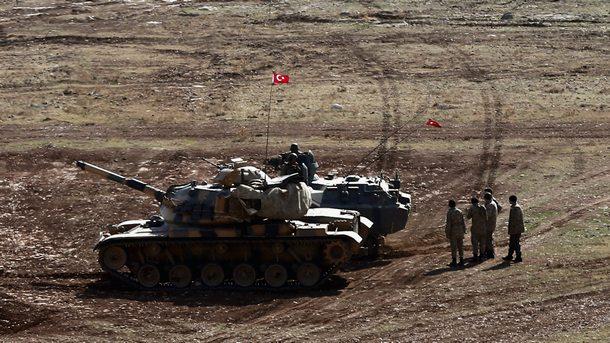 Турски сухопътни части навлязоха в Сирия (обобщение)