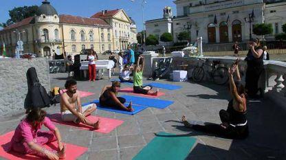 Можеш да упражняваш йога навсякъде