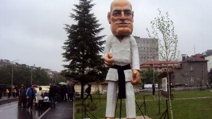 Макет на карнавала в Габрово през 2012 г.