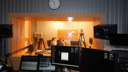 Студиото на радио Бинар