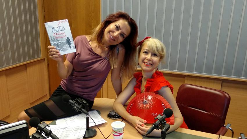 Ива Дойчинова и Кремена Димитрова в студиото на