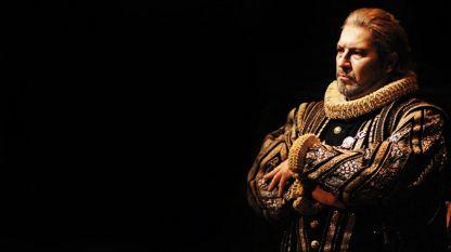 """Коломбара в ролята на крал Филип II в """"Дон Карлос"""""""