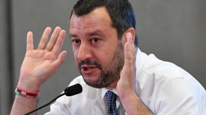 Италианският вицепремиер и вътрешен министър Матео Салвини