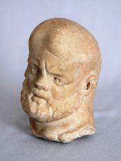 Мраморна глава на мъж. Алмус (дн. гр. Лом)