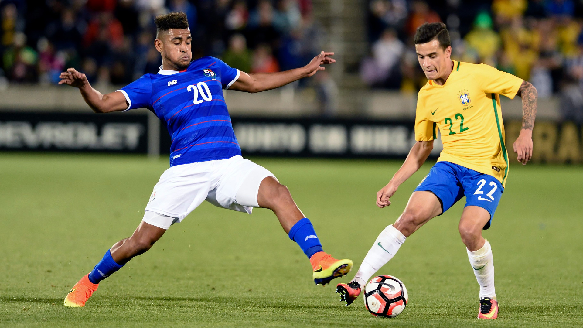 Коутиньо вкара гола за Бразилия срещу Швейцария