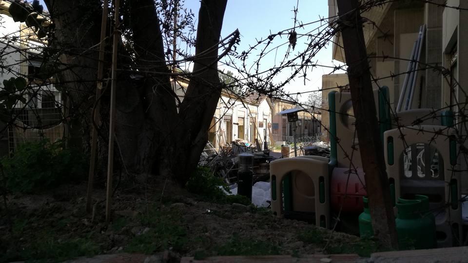 Граница на улицата, Никозия, автор Ирина Недева
