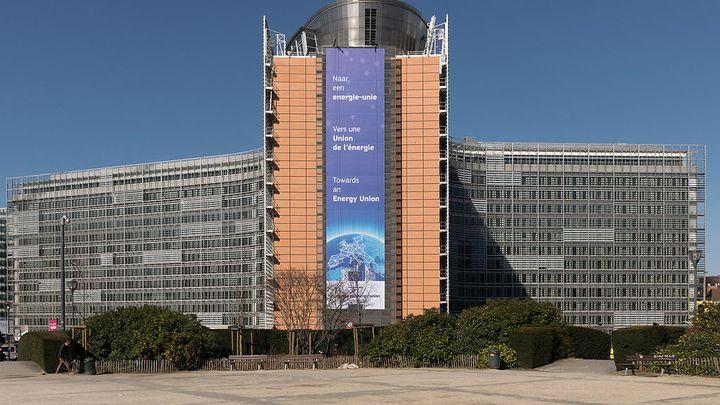 Сградата на Еврокомисията в Брюксел