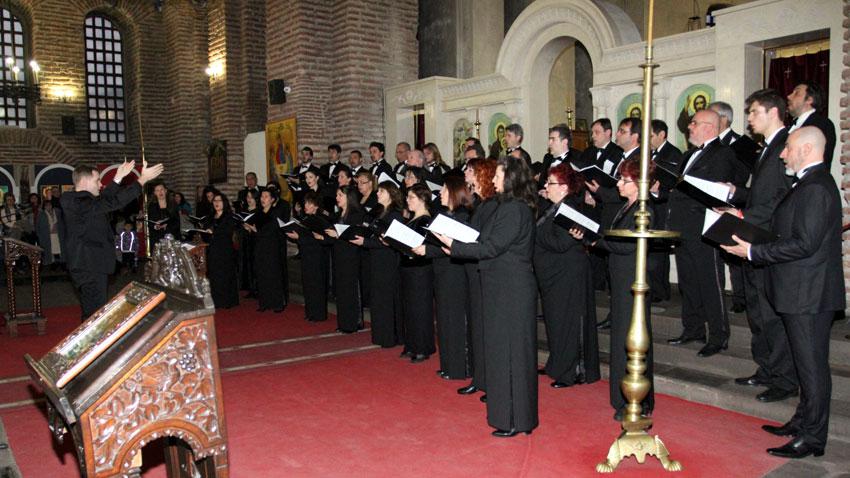 Смесеният хор на БНР, диригент Георги Еленков