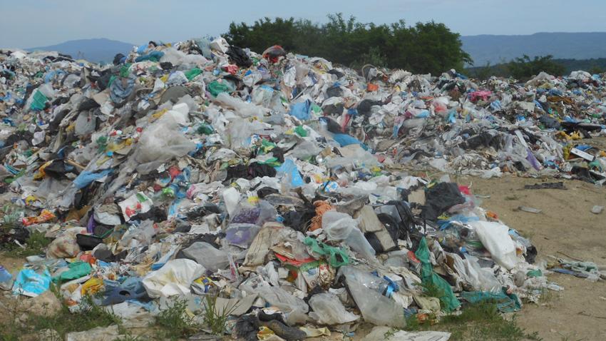 Общинското сметище във великотърновското село Шереметя