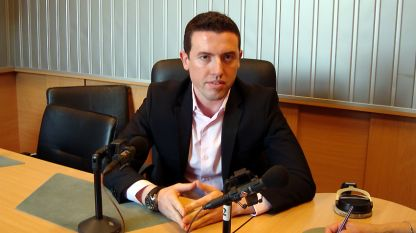 "Калоян Канов в студиото на програма ""Христо Ботев"""