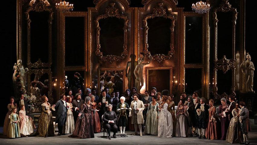 """Сцена от операта """"Андре Шение"""""""