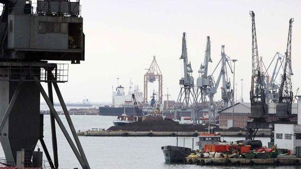 Пристанището на Солун