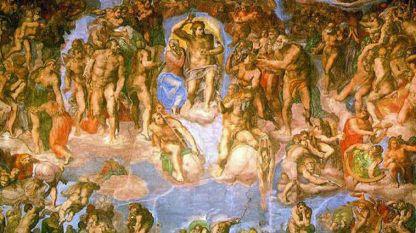 Страшният съд, фреска от Микеланджело в Сикстинската капела