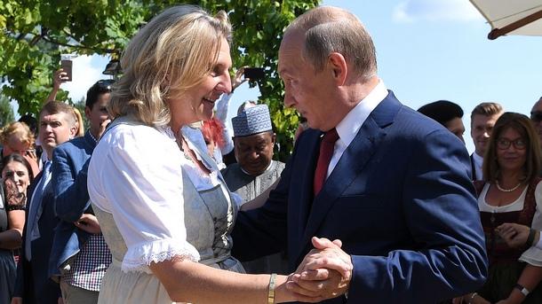 Руският президент Владимир Путин пристигна в австрийския град Грац, за